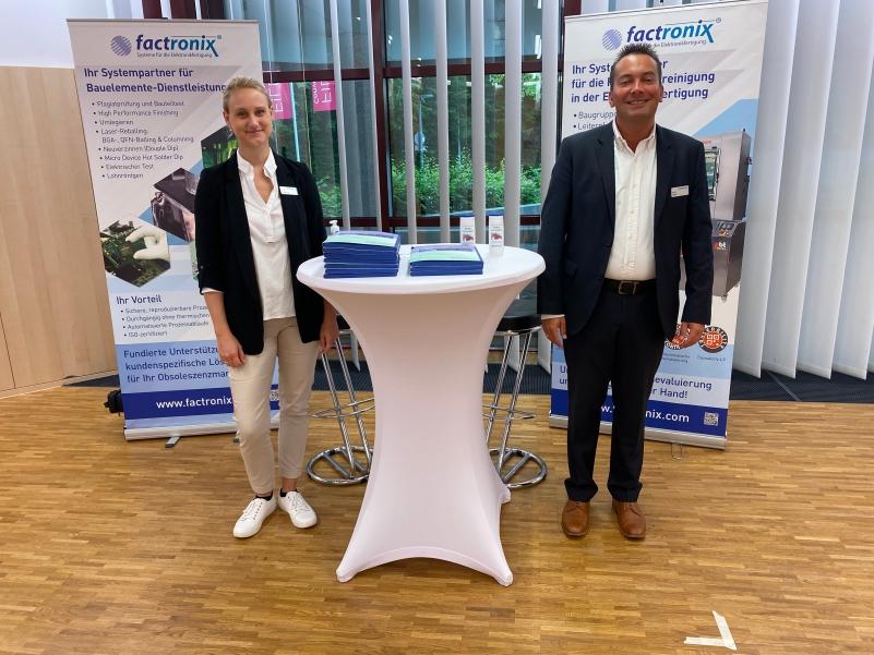 Factronix war Ausstellungspartner des 9. EPP-Innovationsforums.